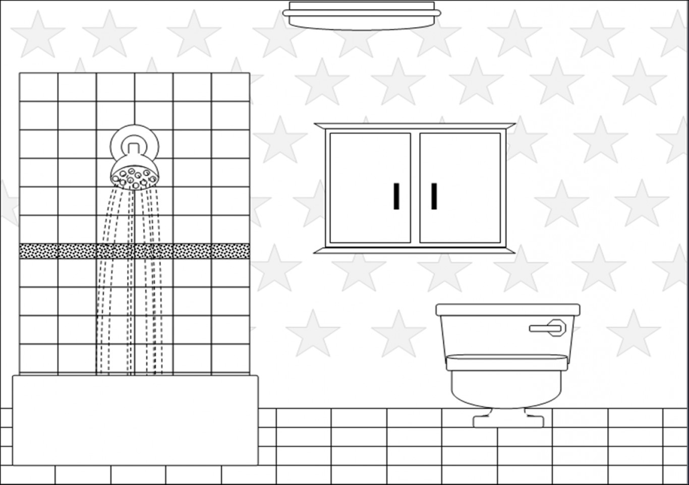 Bathroom clipart black and white 3 » Clipart Station.