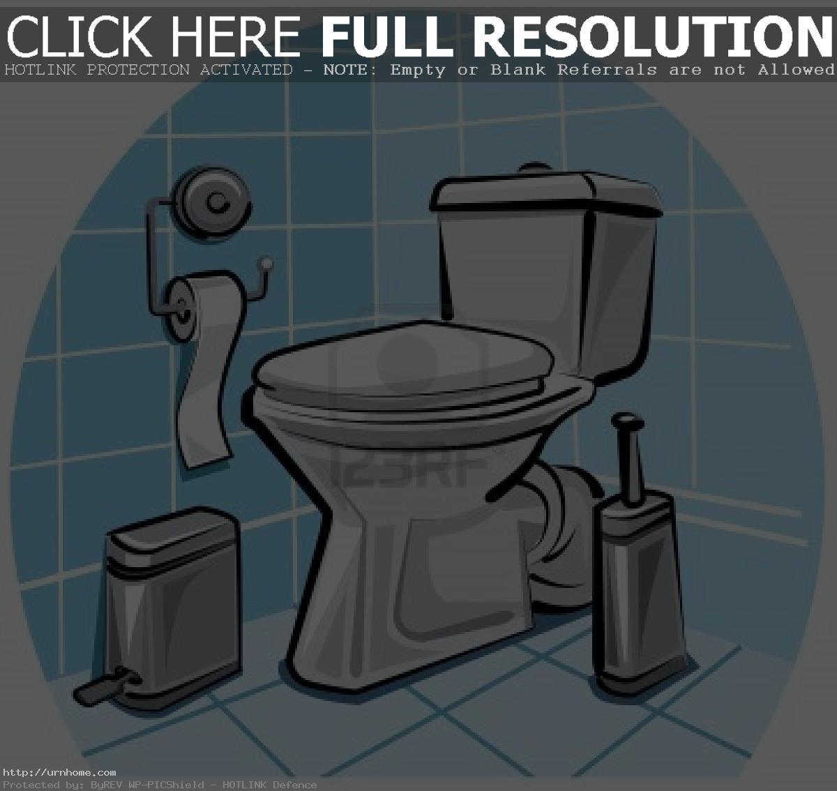 Bathroom clipart ideas.