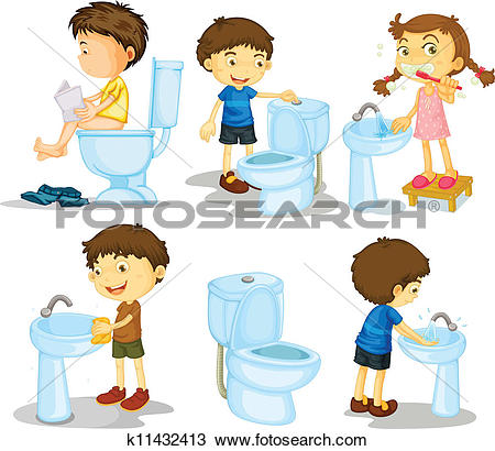 Bathroom Clipart EPS Images. 21,669 bathroom clip art vector.