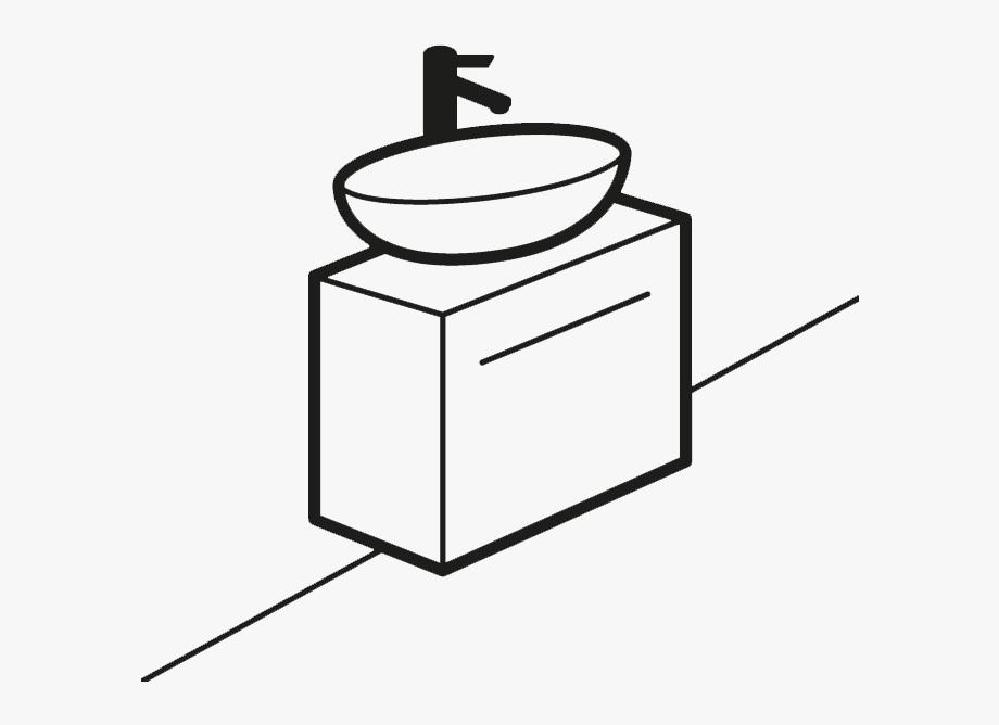 Countertop Basin Vanity Units Counter Top Drench Ⓒ.