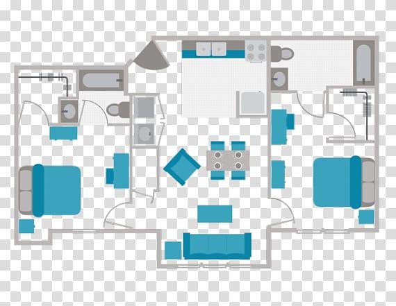 Apartment Bedroom Bathroom Floor plan, Toilet floor.