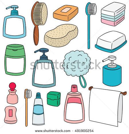 Clipart Bathroom Accessories & Free Clip Art Images #16539.