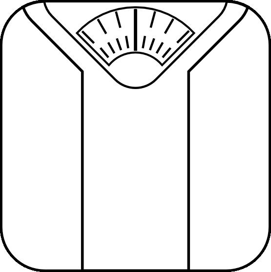 Clip Art Bathroom Scale Clipart.