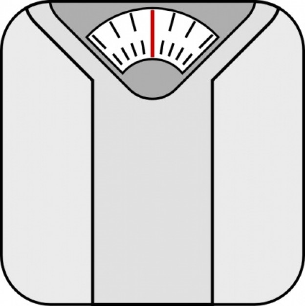 Free bathroom scale clip art.
