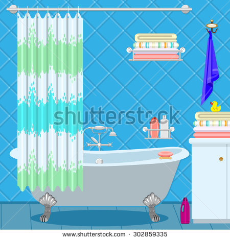 Shower Bath Stock Photos, Royalty.