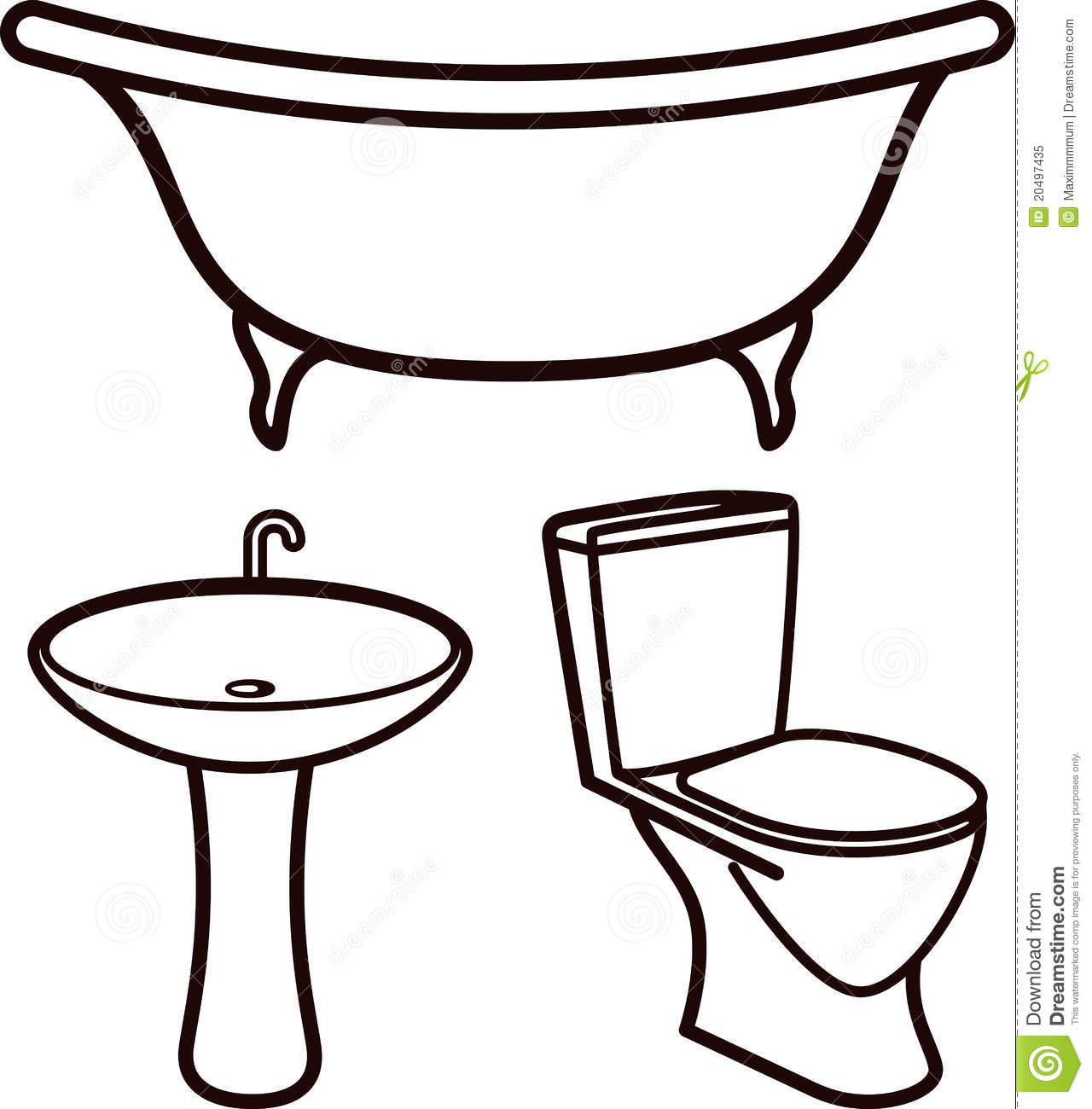 Bathroom Clip Art Black And White: Bathroom Sink Clipart 20 Free Cliparts