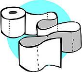 Toilet Paper Clip Art.