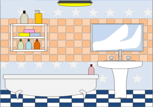 Bathrooms Clipart.