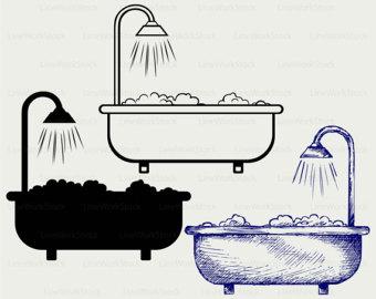 Bath clipart.