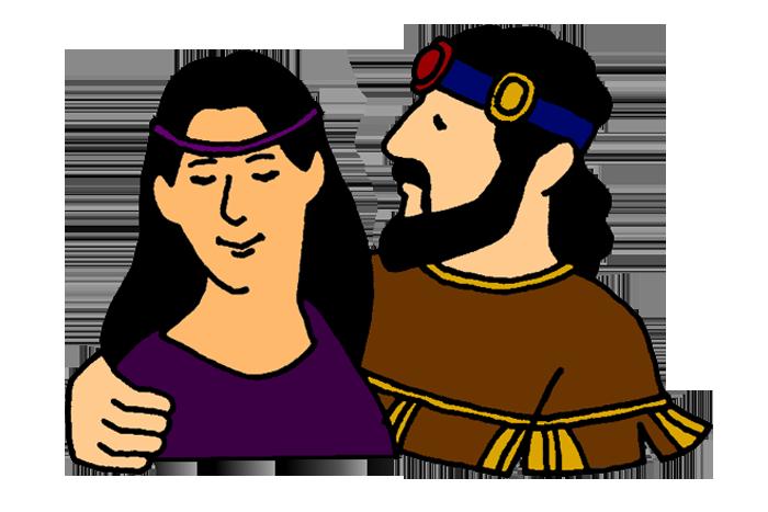David's Sin with Bathsheba.
