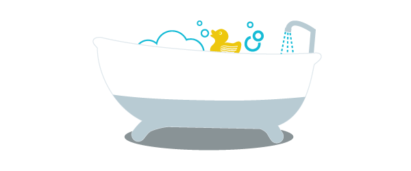 Tub clipart water usage, Tub water usage Transparent FREE.