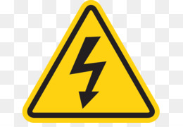 Free download Electricity Hazard symbol Clip art.