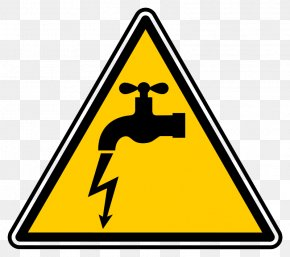 Hazard Symbol Electricity Electrical Injury Safety, PNG.