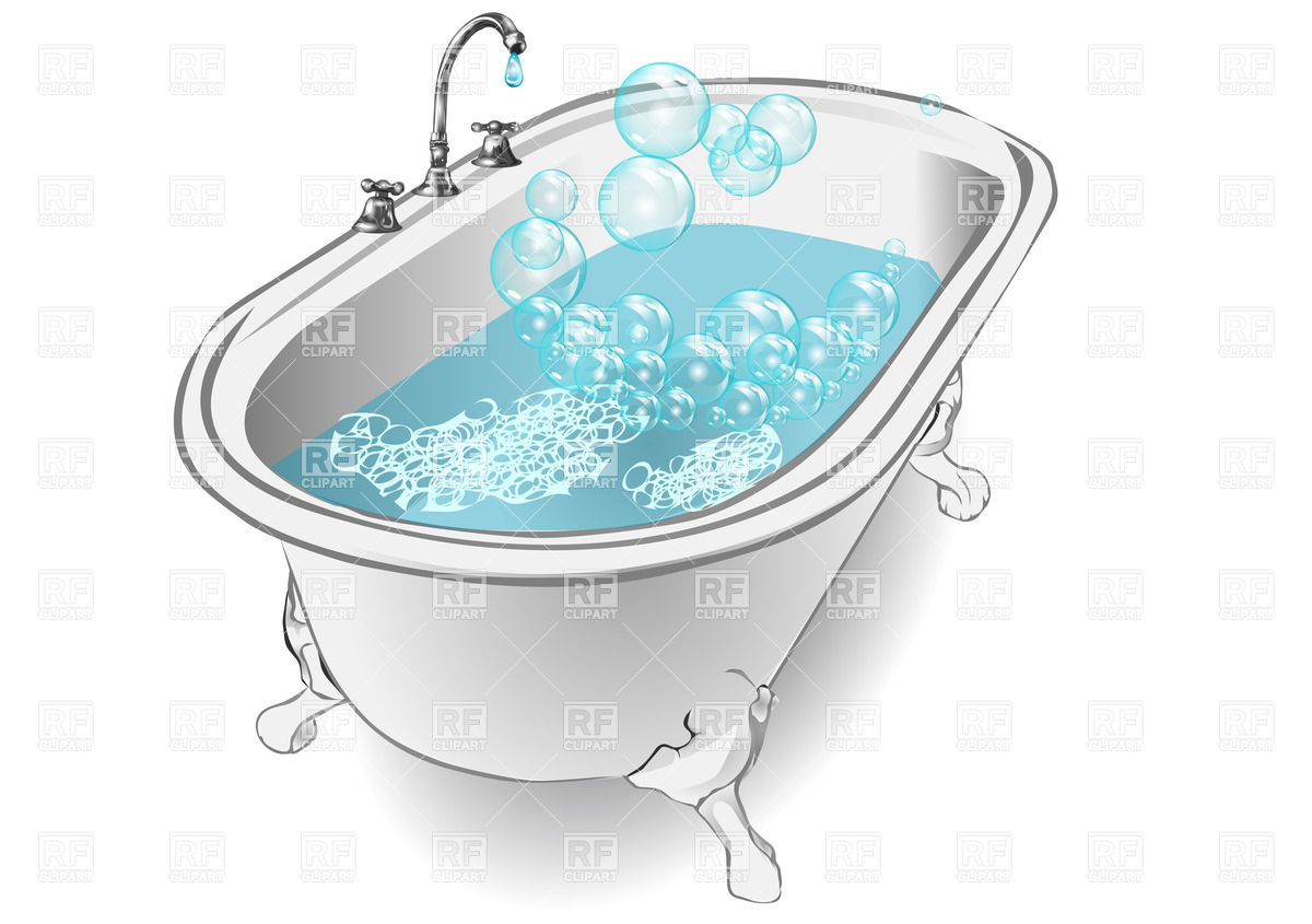 Bathtub Clipart.