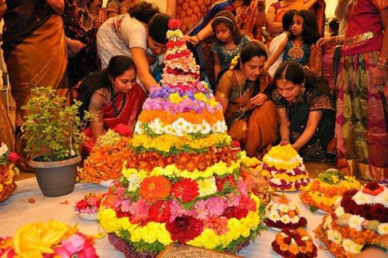 Happy Bathukamma Images, Wishes, Greetings 2017: is a.