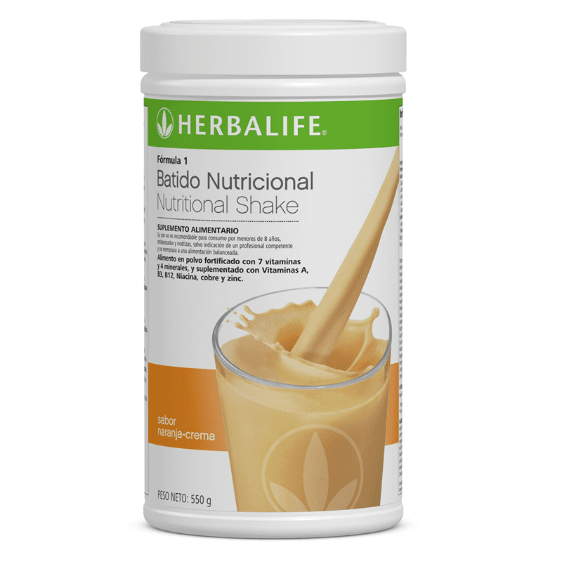 Batido Nutricional Naranja Crema.