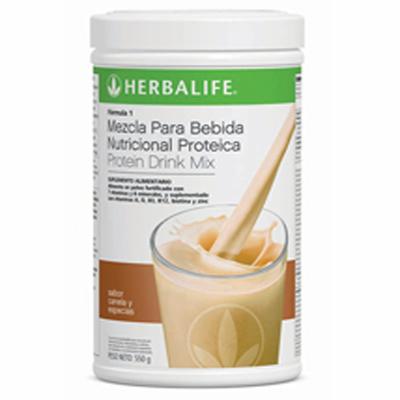 Batido Nutricional herbalife Canela y Especias.