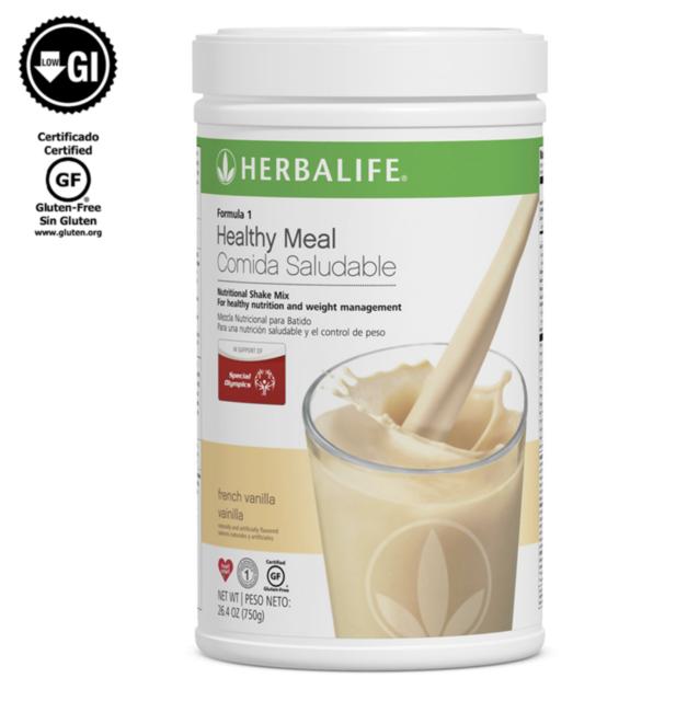 Herbalife Formula 1 Healthy Meal Nutritional Shake Mix French Vanilla 750g.