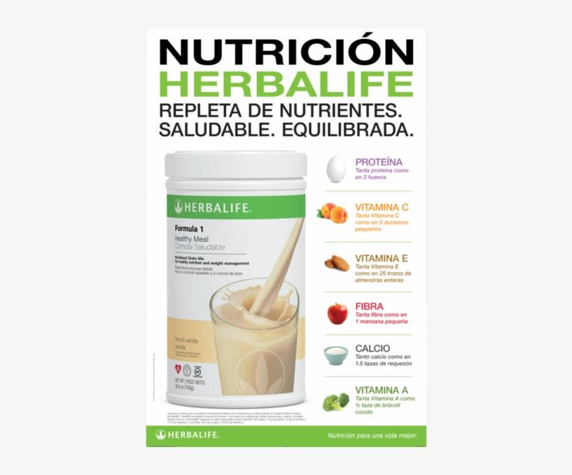 Nutricion Herbalife Poster.