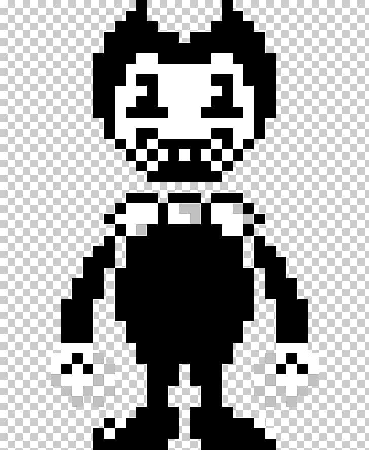 Bendy and the Ink Machine Pixel art , batim bendy PNG.