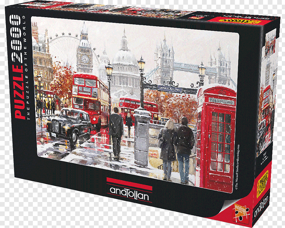 Jigsaw Puzzles Tower Bridge Ravensburger Game, Batimovil.