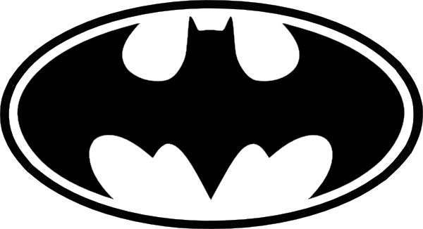 Free Batman Black And White Symbol, Download Free Clip Art.