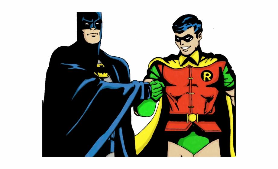Superhero Robin Clipart Batman Character.