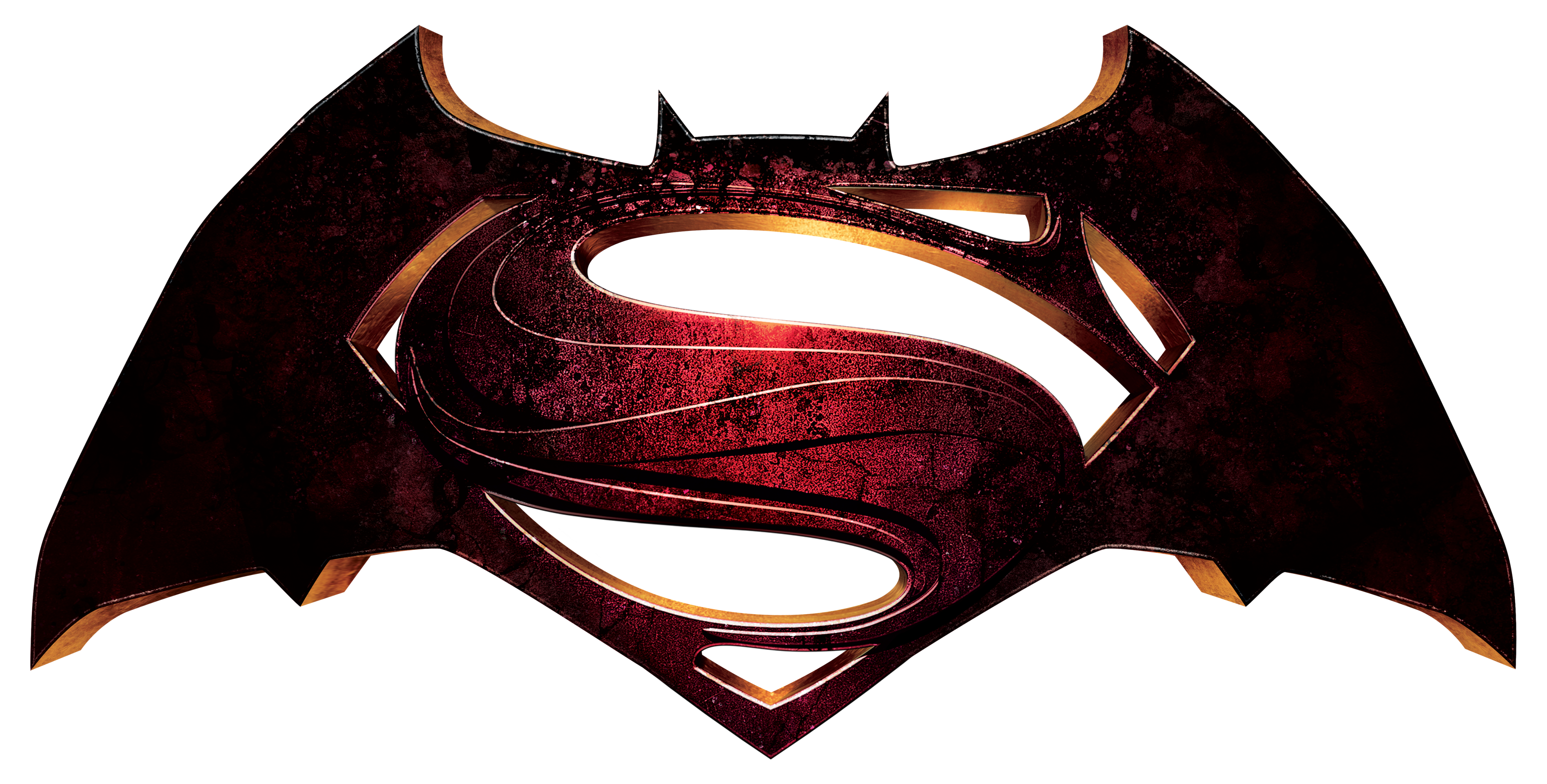 Batman Superman Logo.