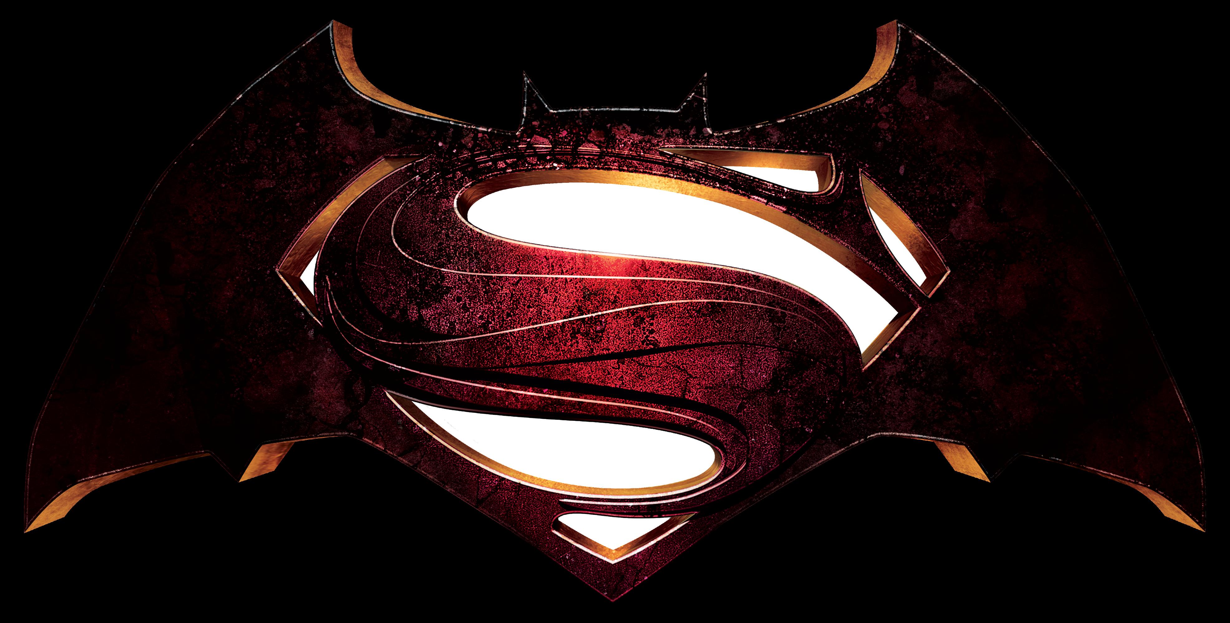 Batman Superman Logo.