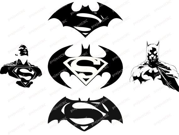 Batman V Superman Clipart.