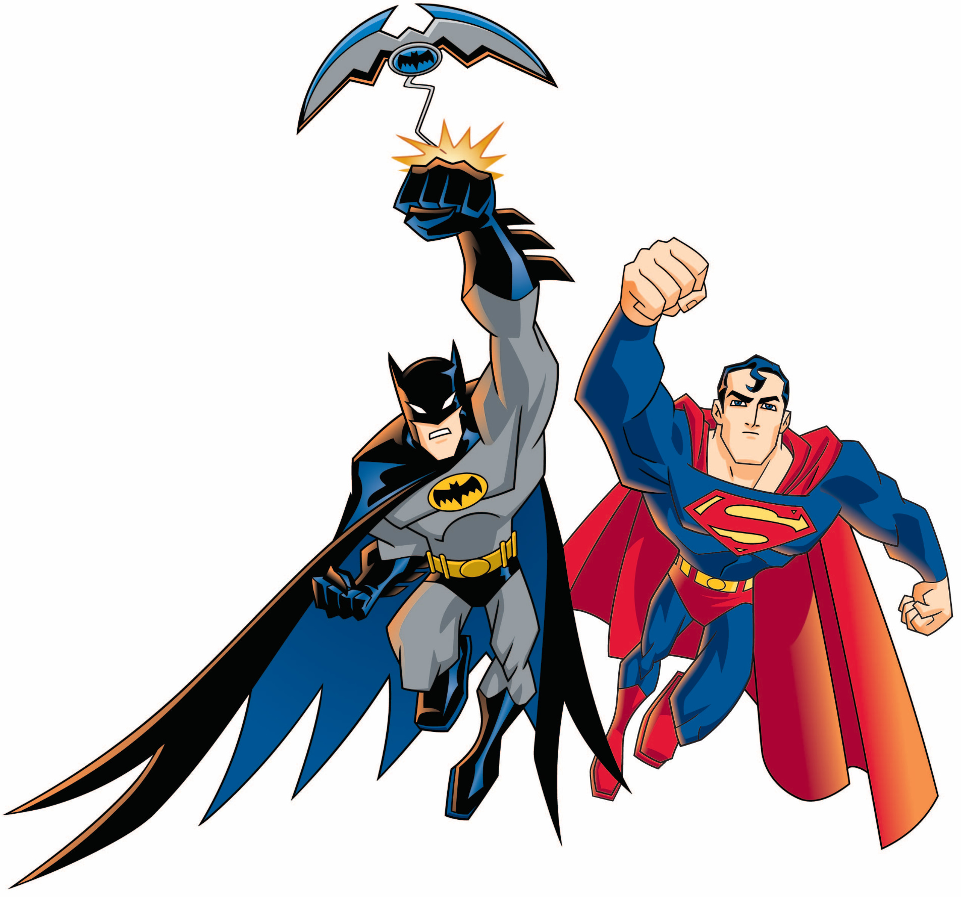 Batman Superman Clipart Free.