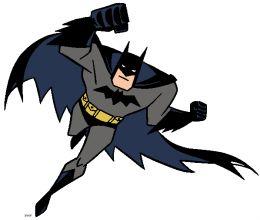 batman and superman clipart #8