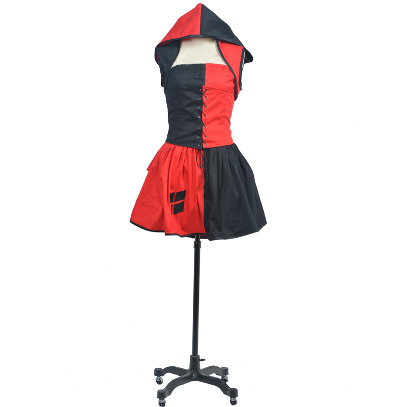 Batman Arkham Asylum City Harley Quinn Cosplay Costumes.