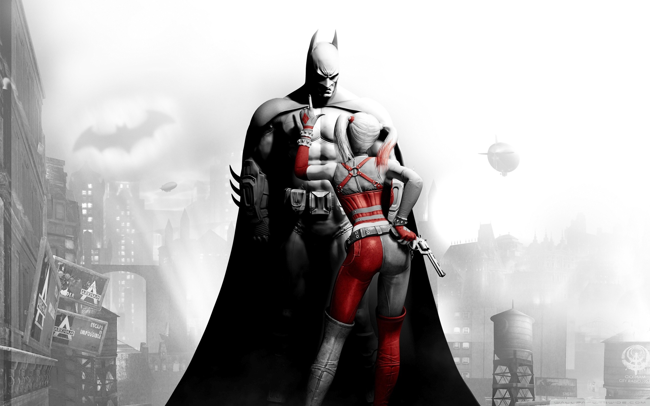 Harley Quinn Arkham City Wallpaper.