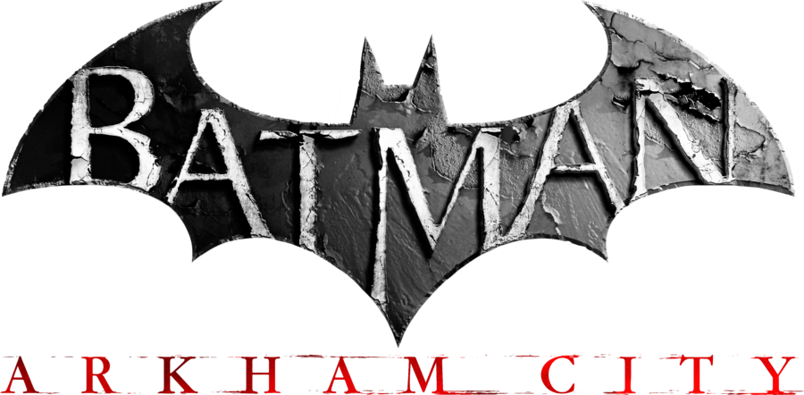 Batman Arkham City Logo Render by Akio.