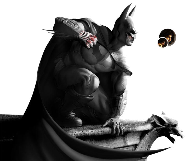 Download Batman Arkham City PNG Transparent Image.