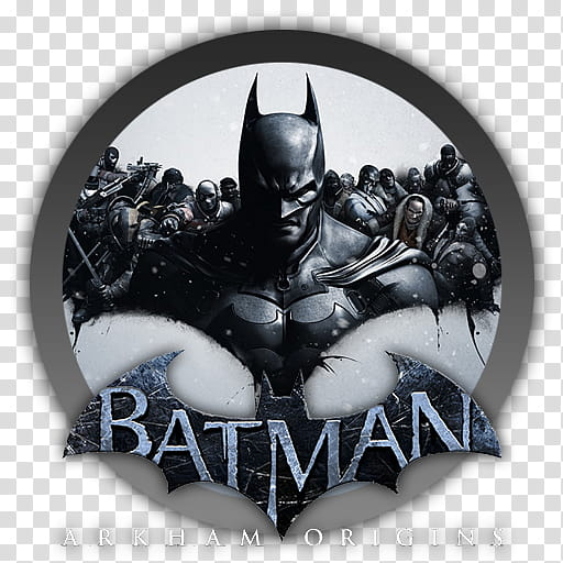 Batman Arkham Origins Icon transparent background PNG clipart.
