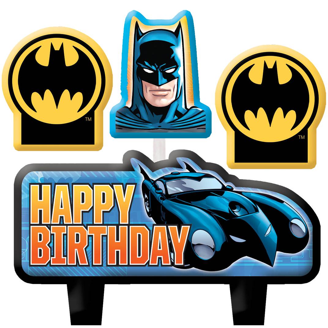 Batman Birthday Party Supplies, Theme Party Packs.