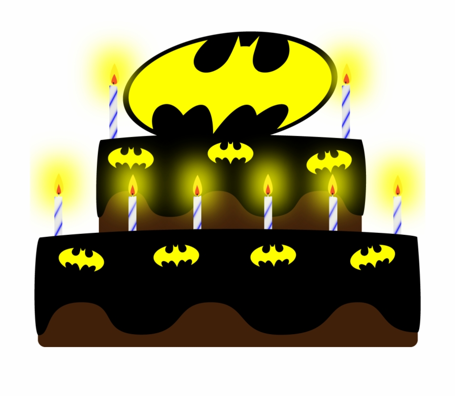 Gothamrogue Batman Birthday Cake.