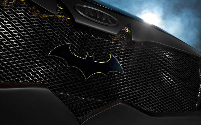 Batman Car emblem.