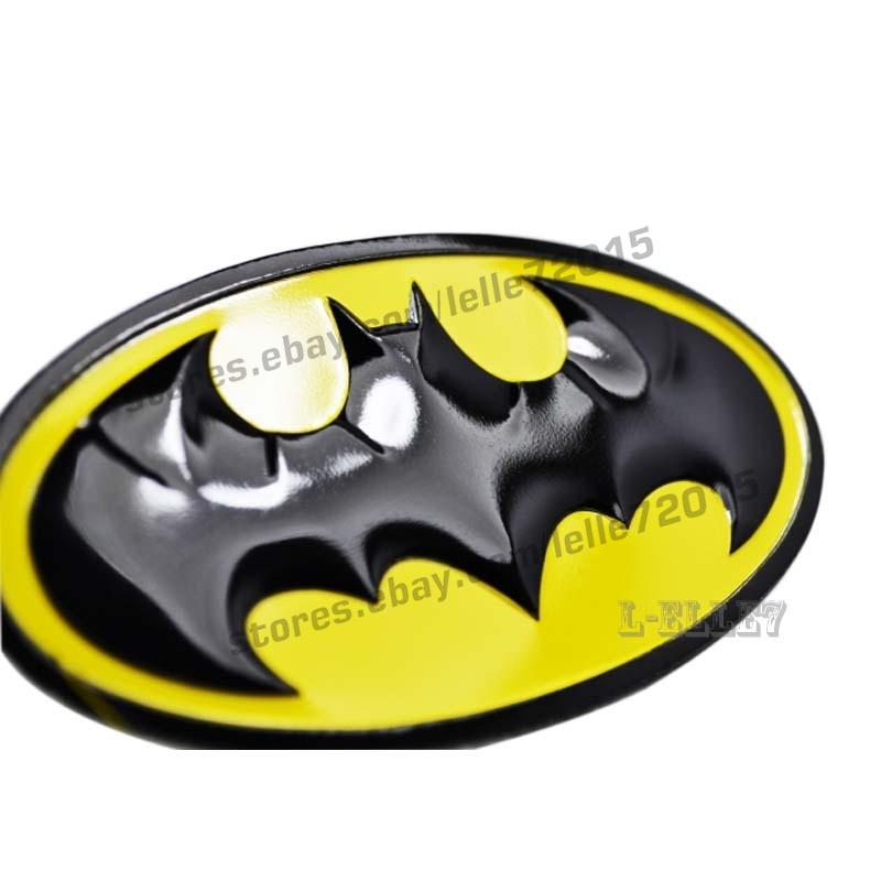 Details about 3D Aolly Metal Batman Car Batman Logo Badge Emblem Car  Sticker Decals Auto Decal.