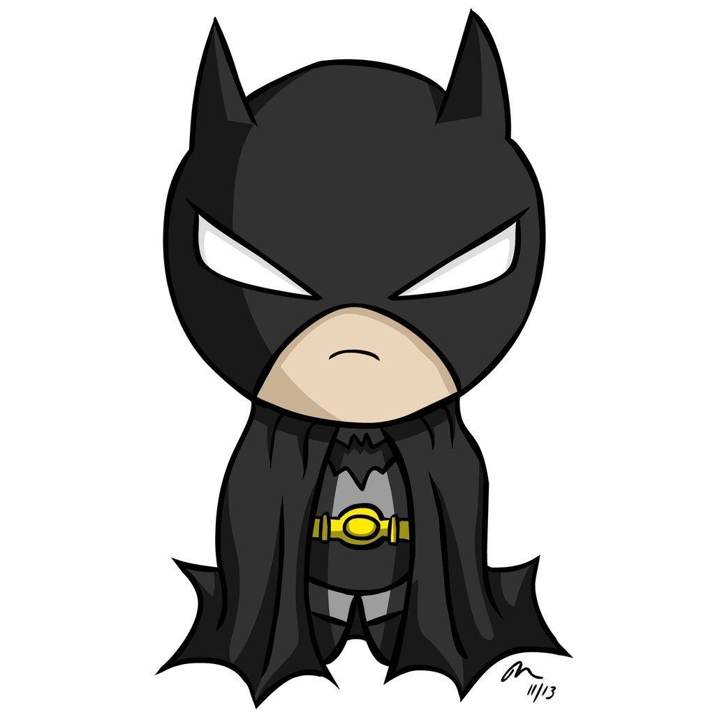 Baby Batman Cartoon Clipart.