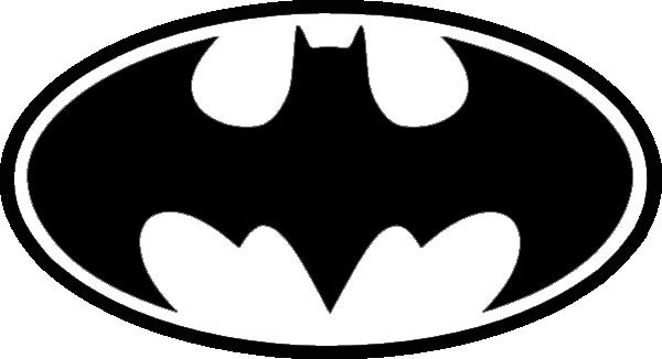 Free Batman Black And White Symbol, Download Free Clip Art, Free.