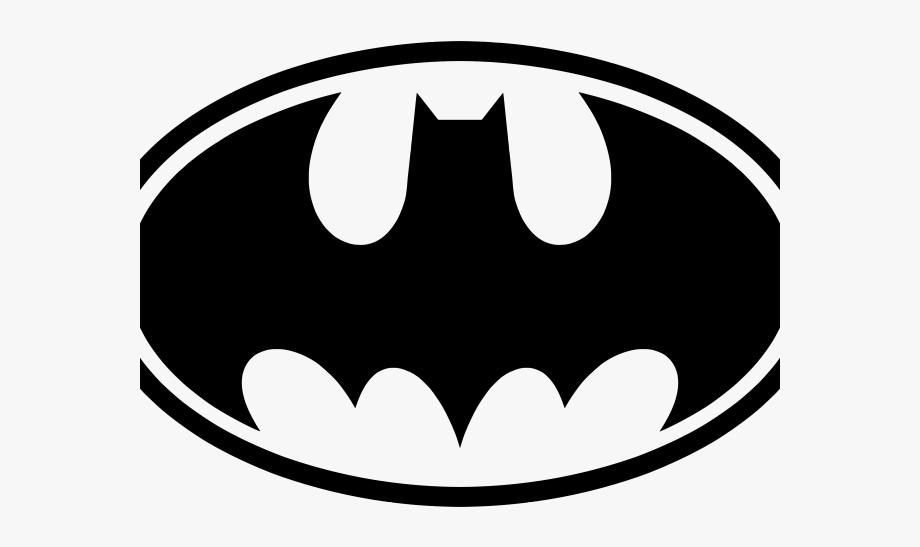 Batman Black And White Symbol.