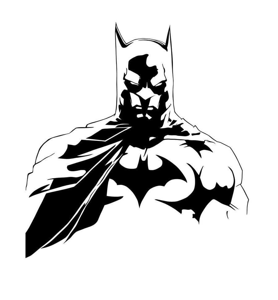 Batman Images Black And White Png