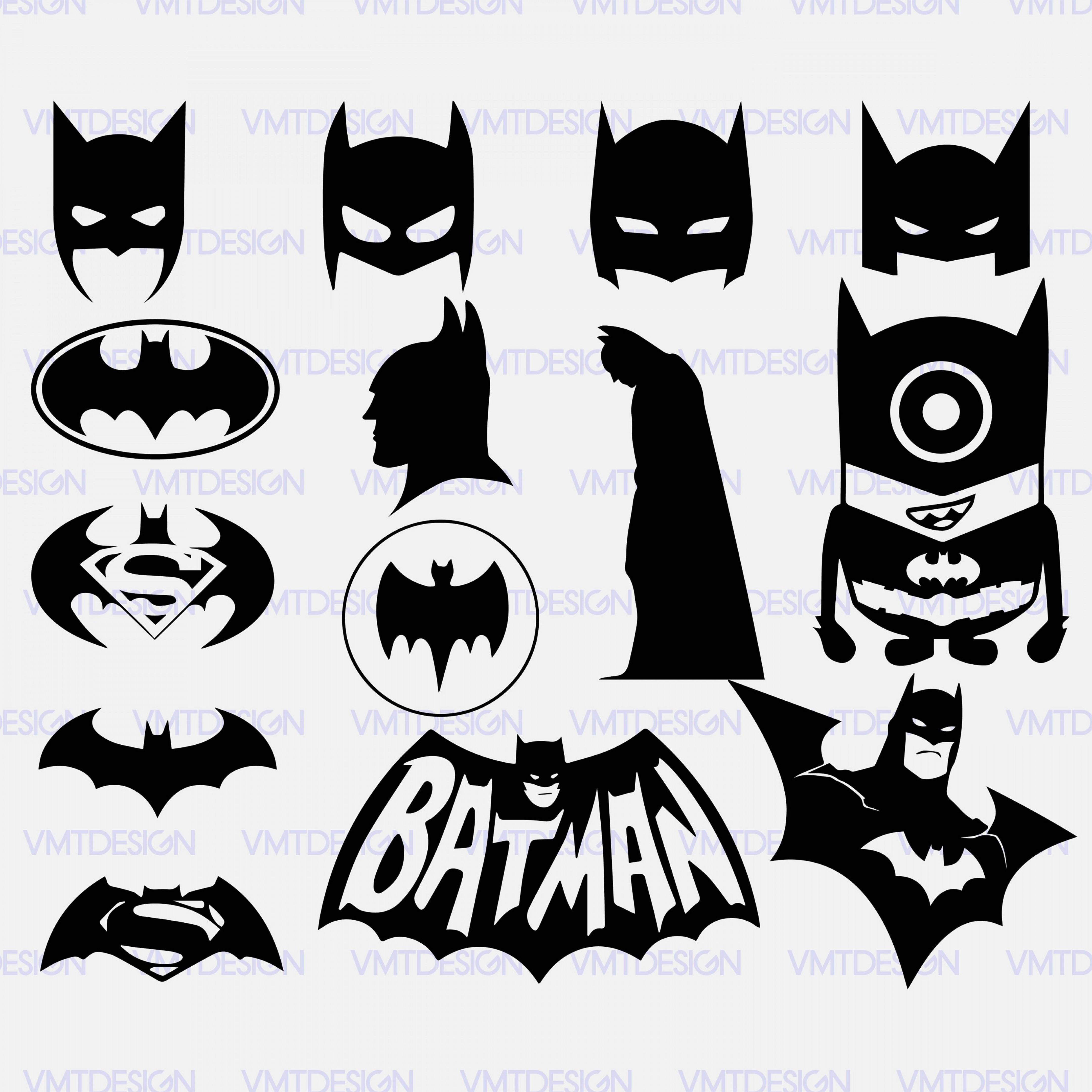 Batman Svg Batman Vector Batman Clipart.