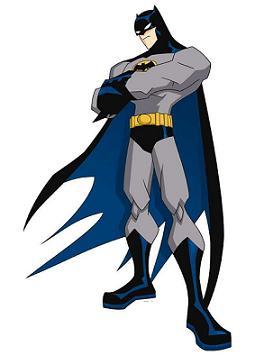 Free Batman Cartoon Clipart.