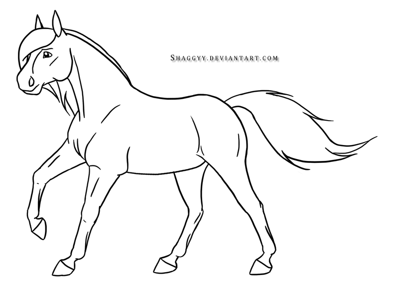 Easy Drawings Of Horses Running Images Pictures.