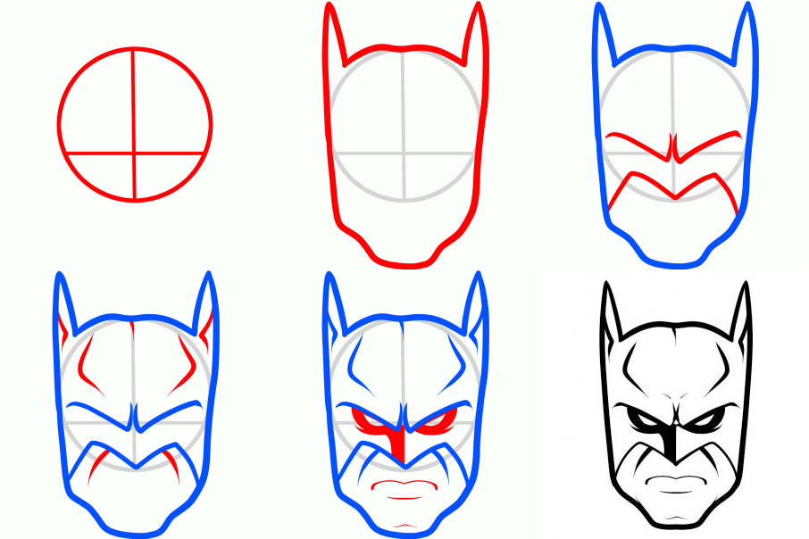 How to Draw Batman Characters in 2019.