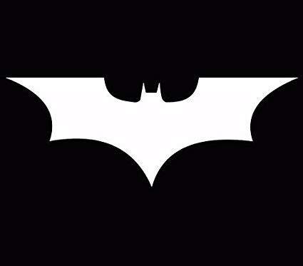 Amazon.com: Batman Dark Knight Symbol Vinyl Car Laptop.